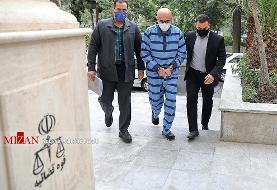 تصاویر | هشتمین دادگاه باند طبری | از چشمان اشکبار دانیال زاده تا ...