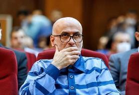 ببینید | اکبر طبری در هشتمین جلسه دادگاه
