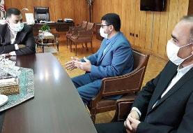 رئیس و نایب رئیس کانون سردفتران و دفتریاران با وزیر دادگستری دیدار کردند