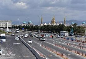 ورودیهای تهران به شدت شلوغ است