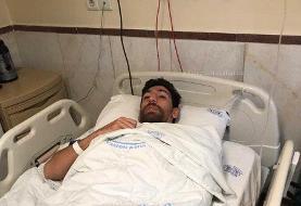 اولین تصویر از مرتضی تبریزی پس از جراحی | مهاجم تیم فوتبال استقلال تهران را ببینید