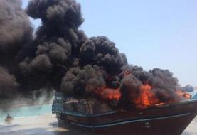 عامل آتشسوزی ۲ لنج باری در هندیجان چه بود؟