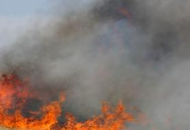 آتشسوزی گسترده در کوهبهار جاجرم خراسان شمالی