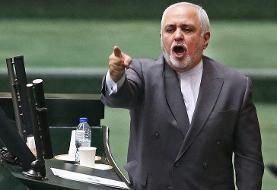 انتقاد تند ظریف از تخریب وزارتخارجه: با کشیدن عکس مار جامعه را تهییج میکنند