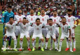 دیدار تیم ملی فوتبال ایران با ازبکستان در ۱۷ شهریور