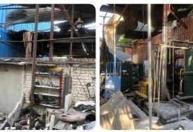 تصاویری از انفجار در باقرشهر