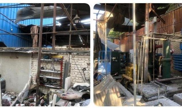 فیلم و عکس: ماجرای انفجار دیشب در باقرشهر چه بود؟