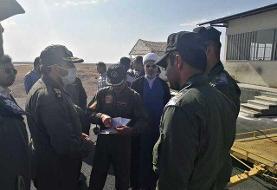 بازدید امیر سرتیپ هادیان از پایگاه هوایی شهید اکبری(قیام)