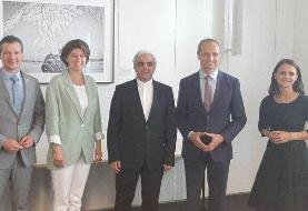 دیدار سفیر ایران در وین با رئیس گروه دوستی پارلمانی ایران و اتریش