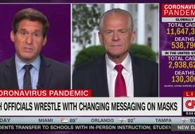 Trump Aide Peter Navarro's Bonkers CNN Interview: 'Give Peace a Chance, Give Hydroxy a Chance'