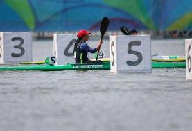 آغاز تمرینات تنها بانوی پارالمپیکی قایقرانی از ۲۱ تیر در دریاچه آزادی