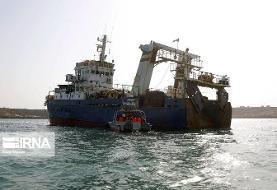 حمله شبانه کشتیهای چینی به ذخایر خلیج فارس