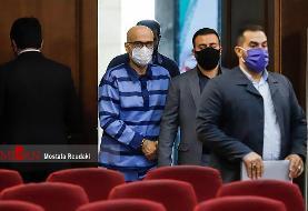 (تصاویر) نهمین جلسه رسیدگی به اتهامات اکبر طبری