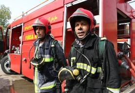 پنج مصدوم بر اثر انفجار گاز در یک کارگاه خیاطی در اهواز