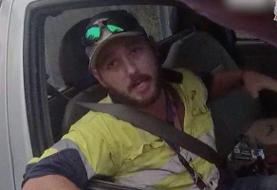 Australian man fights off deadly snake that attacked him in his car while he drove down the highway