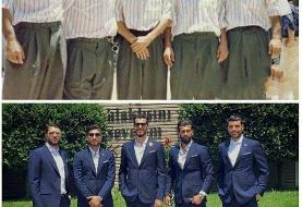 تیپ بازیکنان تیم ملی در گذر زمان/عکس