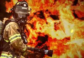 ورود اولین ربات آتشنشان به تهران