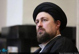 تسلیت سید حسن خمینی به حجت الاسلام حسنخانی