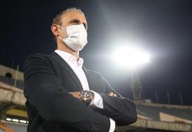 گلمحمدی: بازیکنانم فداکارانه بازی کردند