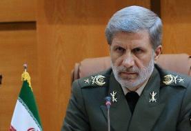 پیام وزیر دفاع در پی درگذشت فرمانده اسبق نیروی هوایی ارتش