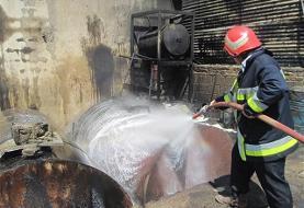 انجام ۳۸۲ عملیات اطفاء حریق در سه ماهه نخست سال جاری