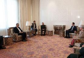 دیدار سرلشکر باقری با بشار اسد در سوریه