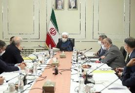 روحانی: توانستیم موج اول کرونا را در مراکز استانها مهار کنیم!