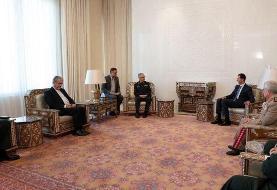 سرلشکر باقری با بشار اسد دیدار کرد