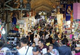 تصویر باورنکردنی از بازار تهران در روزهای مرگبار کرونایی
