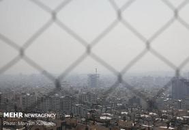 هوای تهران باز هم در مرز آلودگی قرار دارد