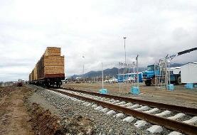 رشد ۱۱۰ درصدی تخلیه کالا در راه آهن شمال ۲