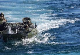 A US Marine is dead and 8 service members are missing after an amphibious assault vehicle sank ...