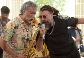 علی انصاریان و محمدرضا هدایتی در یک فیلم