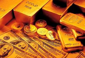 قیمت طلا، سکه و دلار در بازار امروز ۱۳۹۹/۰۵/۱۱/ شیب تند کاهش قیمتها
