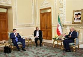 جزئیات دیدار و هدایای متفاوت رئیس کمیته روابط خارجی دومای دولتی روسیه به قالیباف