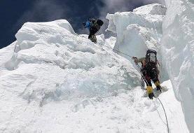 فیلم |عملیات هوایی برای نجات کوهنورد مصدوم در منطقه علم کوه
