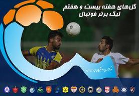 ویدئو / گلهای هفته بیست و هفتم لیگ برتر فوتبال ایران