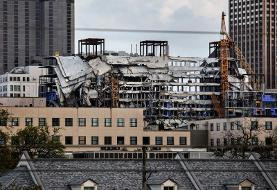 A body was recovered from the wreckage of the New Orleans Hard Rock hotel 10 months after it ...