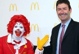 مدیرعامل سابق مکدونالد درباره اتهام روابط جنسی با کارمندان 'دروغ گفته بود'