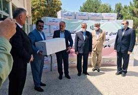 کمکهای پزشکی ایران به بلخ افغانستان رسید