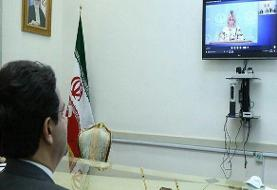 گفت و گوی ویدئو کنفرانسی سخنگویان وزارت خارجه های ایران و روسیه