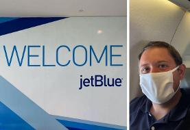 I flew on JetBlue for the first time during the pandemic and had a sterling onboard experience ...