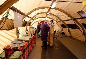 ویزیت ۷۰۰ بیمار و مجروح در بیمارستان صحرایی هلال احمر ایران در بیروت