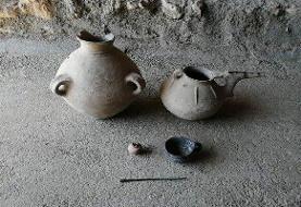 انتقال اشیای تاریخی عصر آهن به موزه مردمشناسی مهاباد