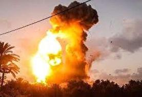 حملات رژیم صهیونیستی به اهدافی در غزه