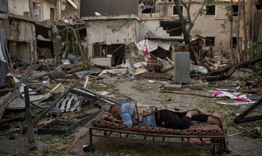 میزان خسارات انفجار بیروت از زبان میشل عون