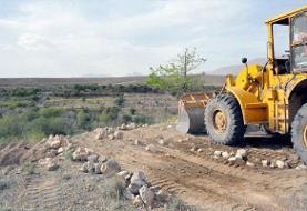 آزادسازی ۲۰۰ هکتار از اراضی کشاورزی نظرآباد و ساوجبلاغ