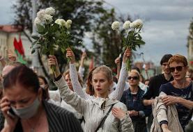 عکس روز| اعتراض به «آخرین دیکتاتور» اروپا