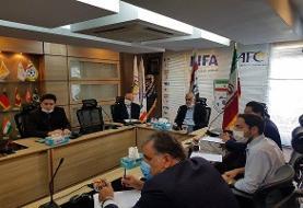 مراسم تودیع و معارفه رئیس کمیته جوانان و آموزش فدراسیون فوتبال