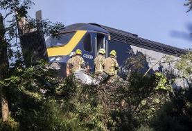 خروج مرگبار قطار از ریل در اسکاتلند